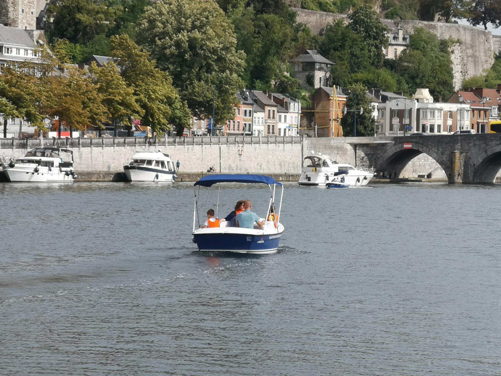 Les Capitaineries de Namur - Bateau sans permis