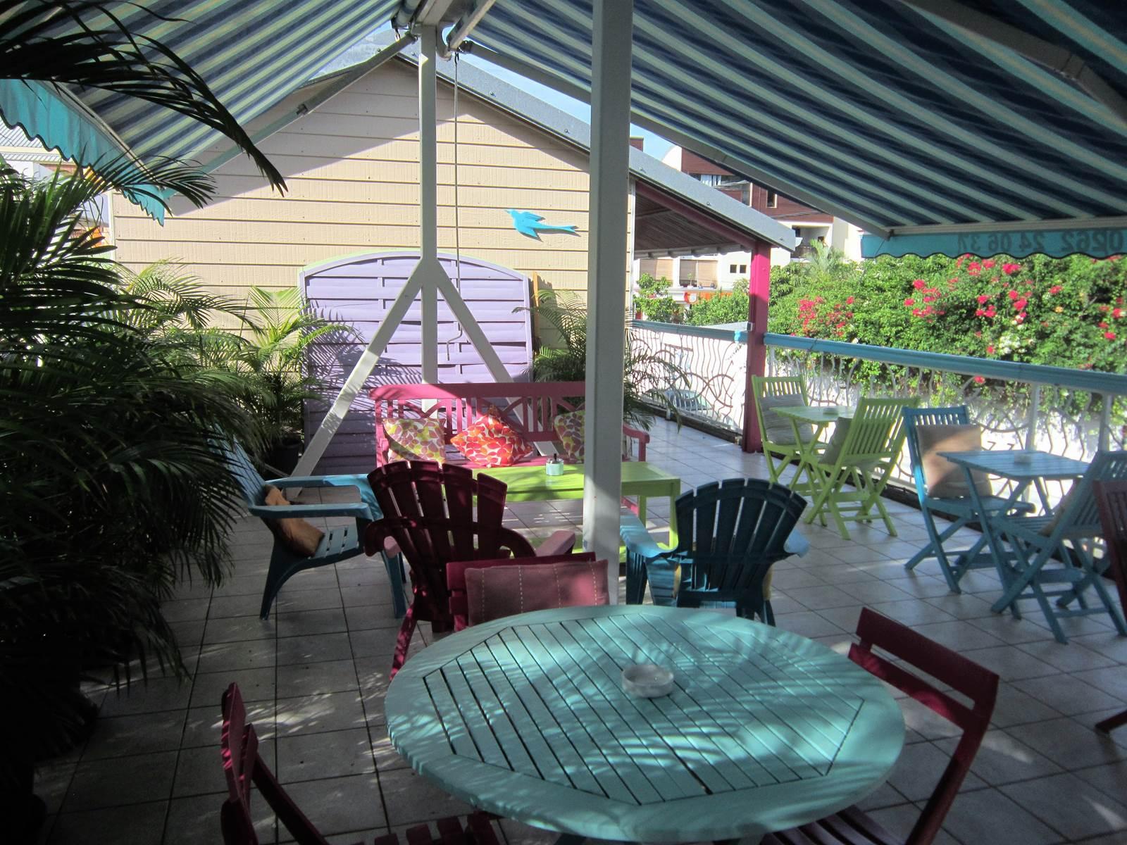 Terrasse conviviale
