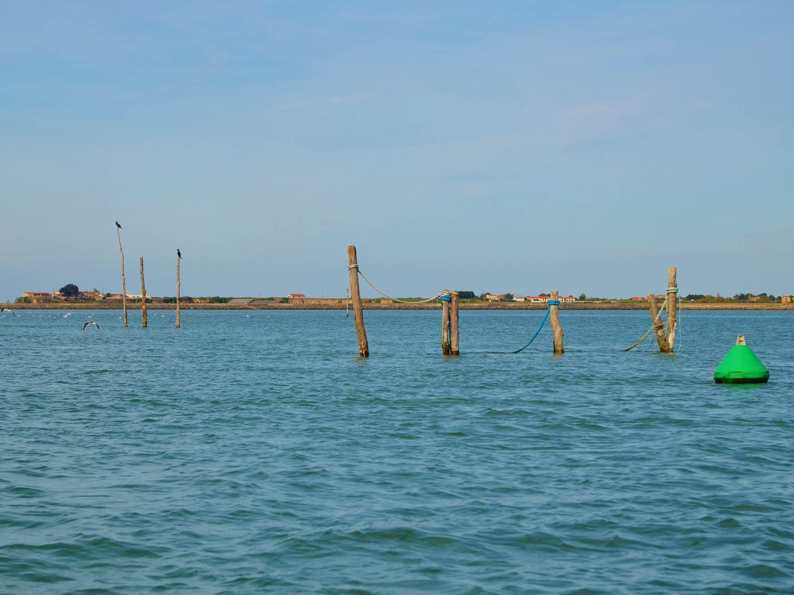 Navigation près de la pointe d'Arçais