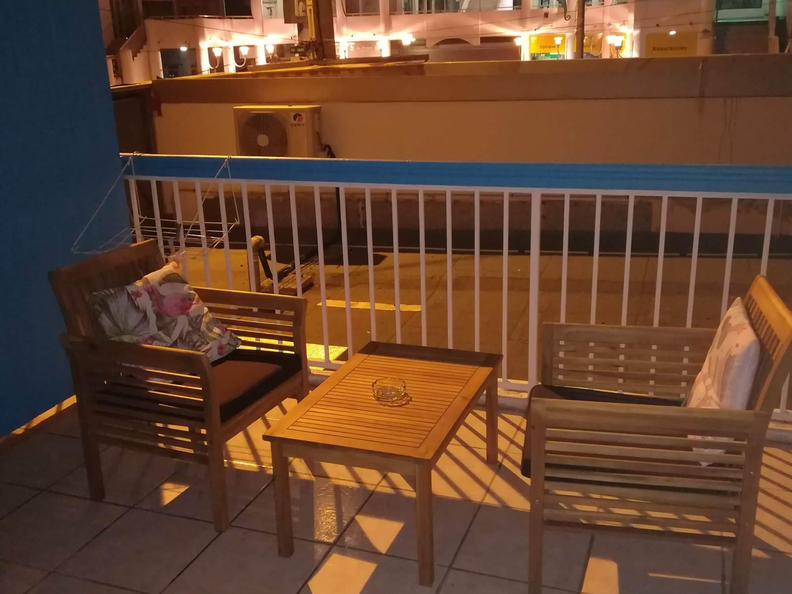 terrasse chambre 115