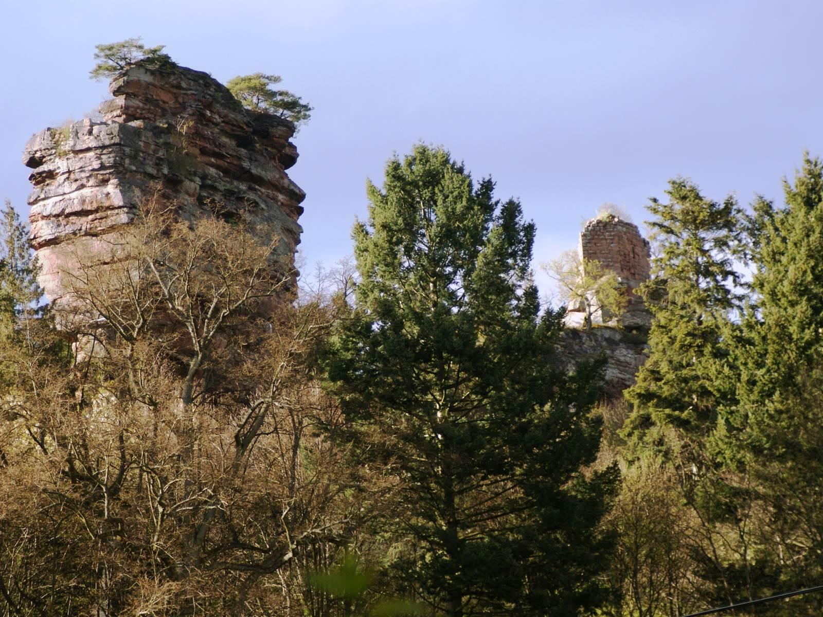 Château de Windstein en Automne