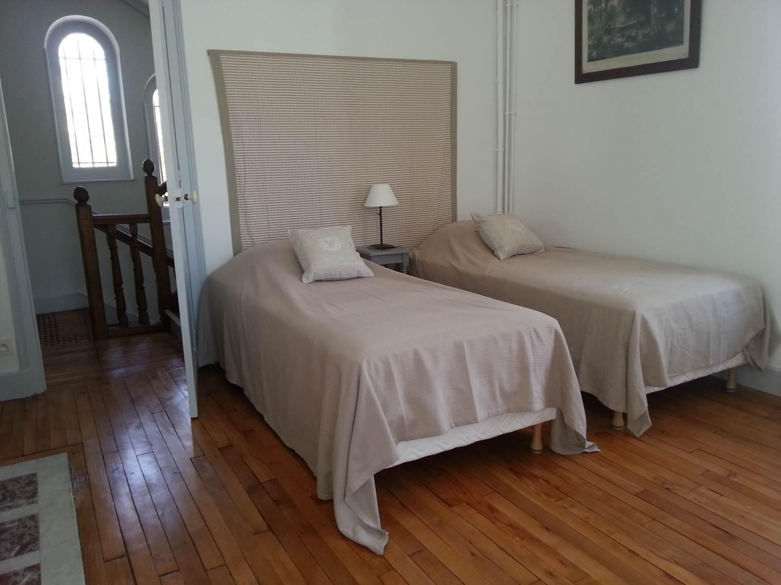 Villa Les Charmilles, Royère de Vassivière, chambre beige