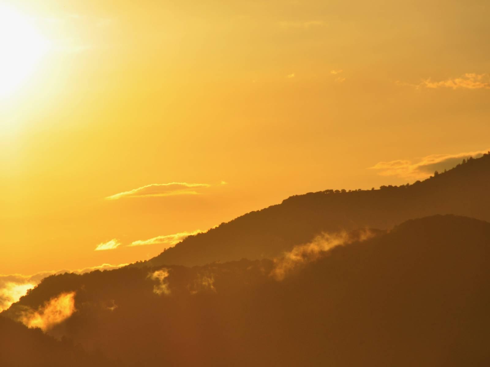 Coucher de soleil au Deffends, merci à Wadness pour la photo