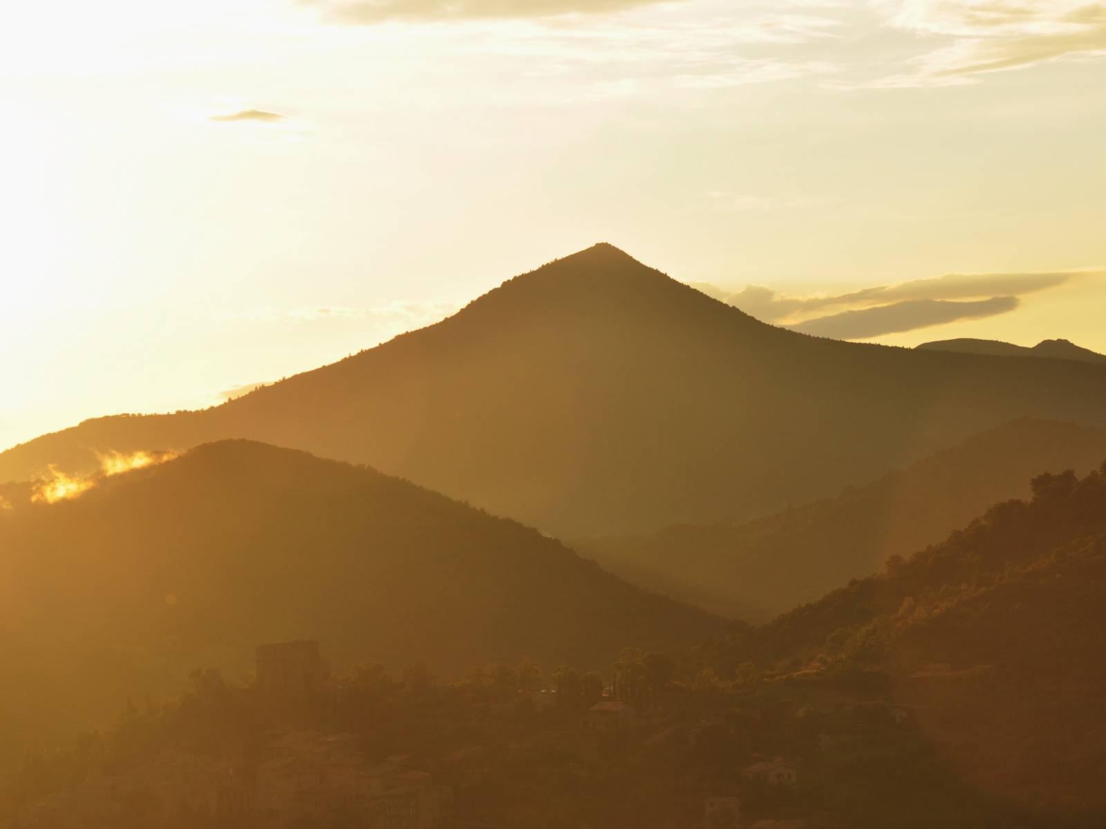 Coucher de soleil au Deffends, merci à Wadness pour cette magnifique photo