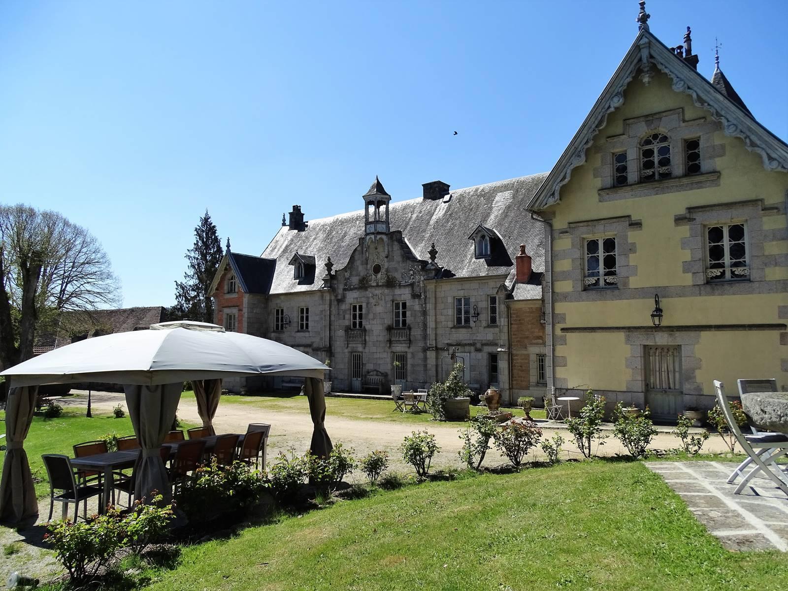 Château de Crocq et son parc.