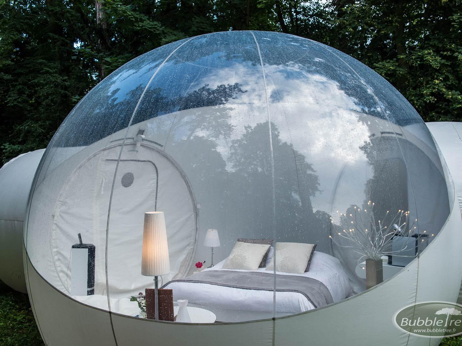 hébergement insolite  bulle typique