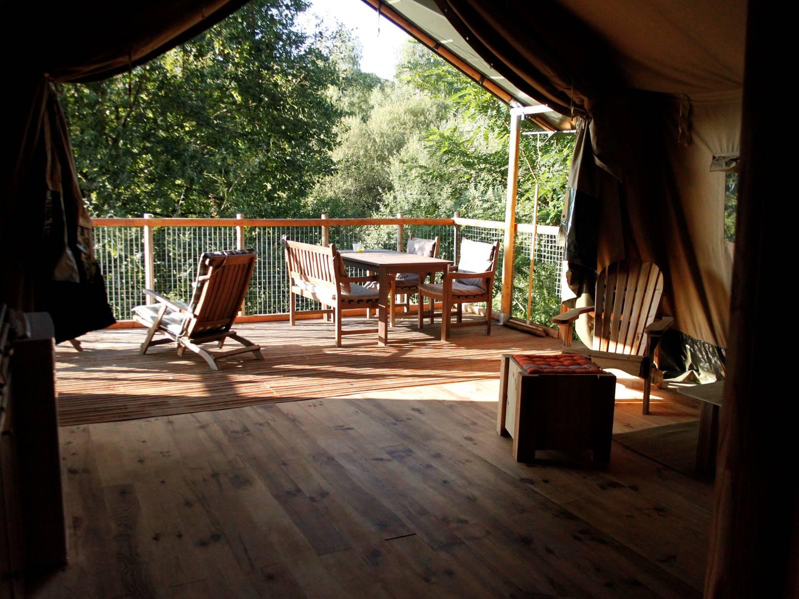 tente bungalow safari