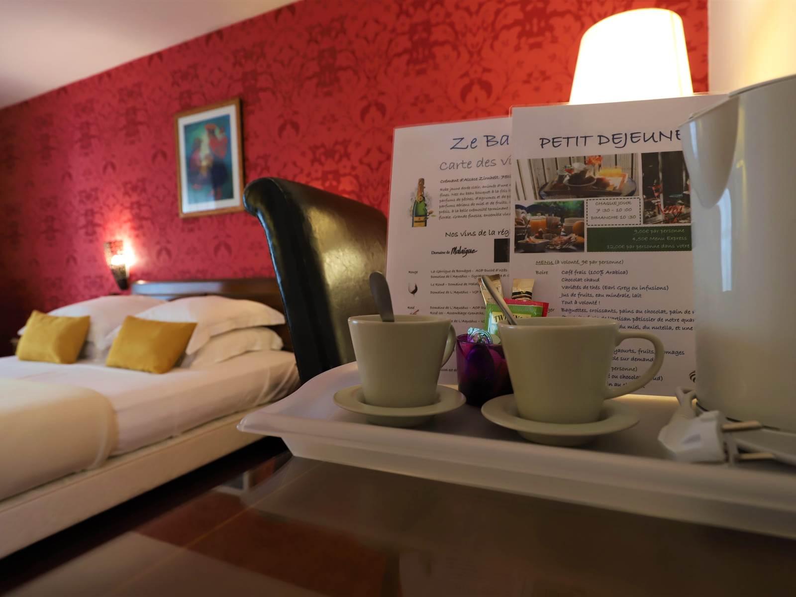 Hotel des Tuileries, Nîmes - Plateau d'accueil gratuite