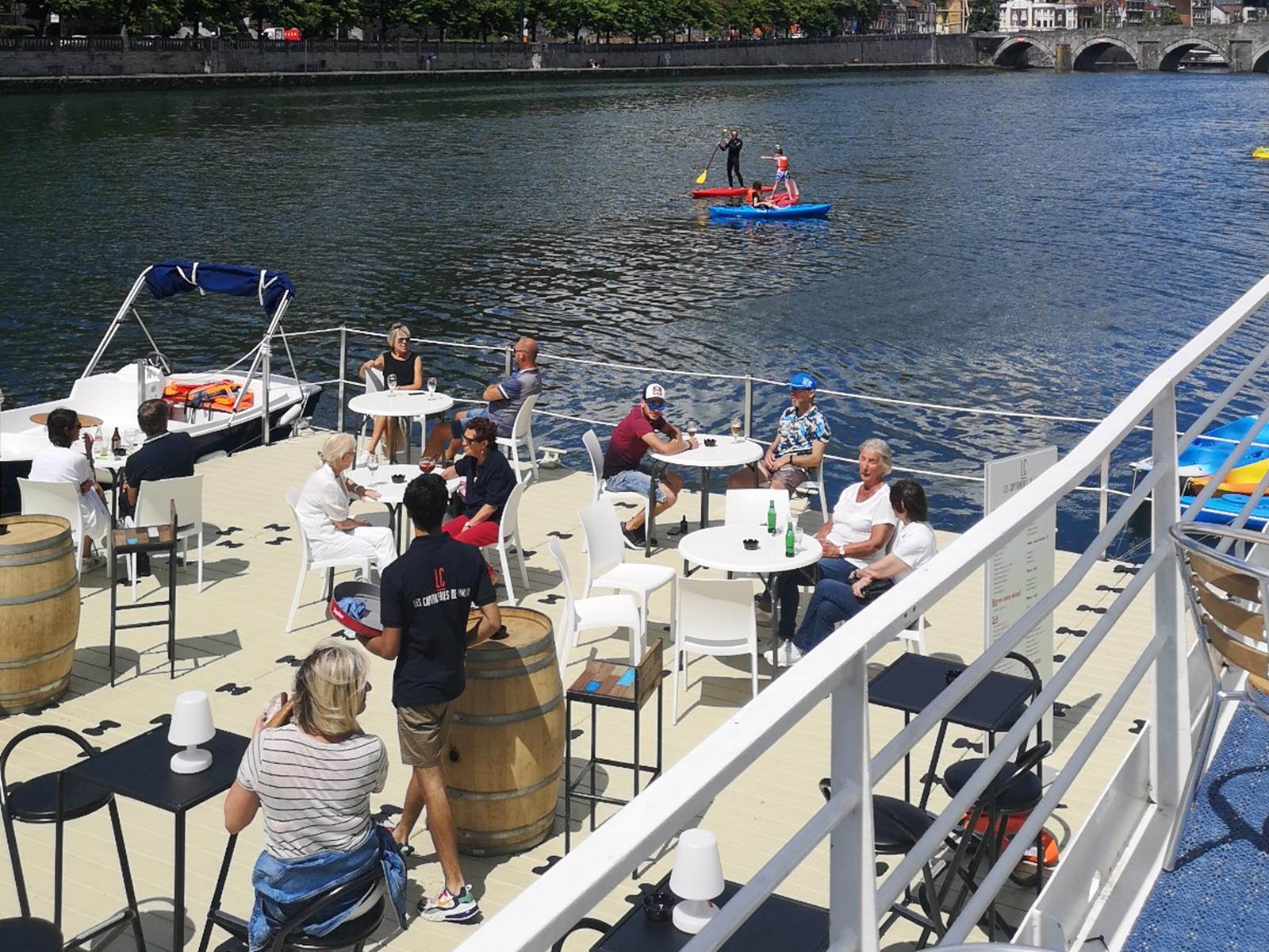 Les Capitaineries de Namur - Terrasse flottante