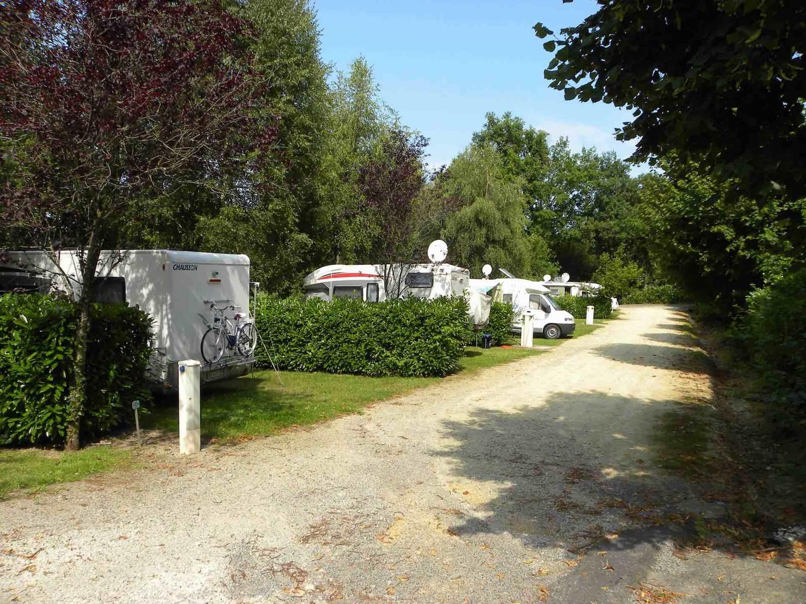 Camping de la Lande à Nexon en Limousin