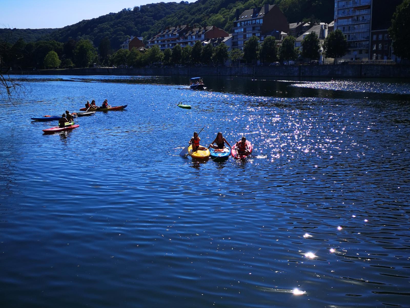 Les Capitaineries de Namur - Bateau sans permis-paddle-kayak