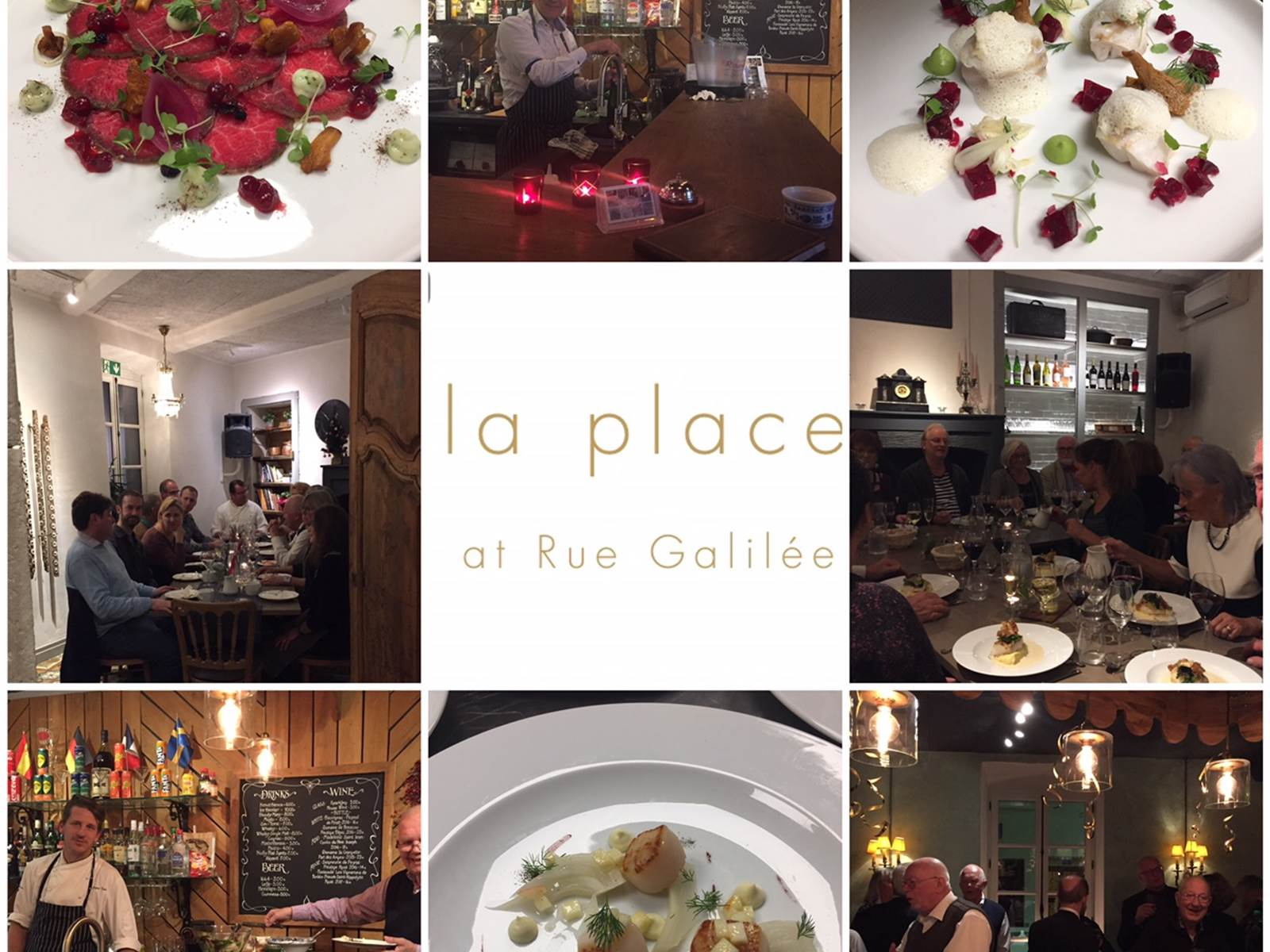 Restaurant La Place at Rue Galilee