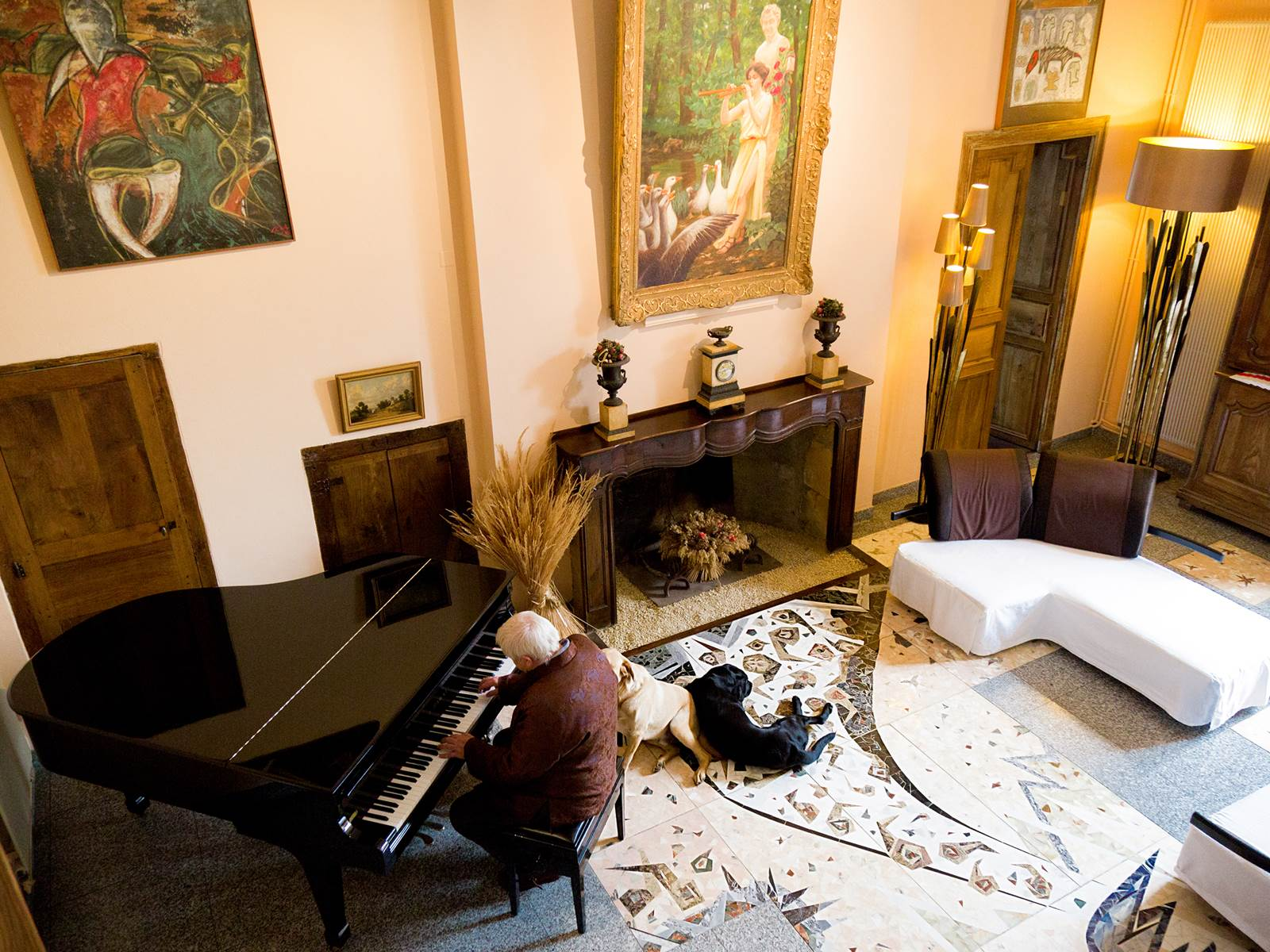 Photo chateau de projan piano