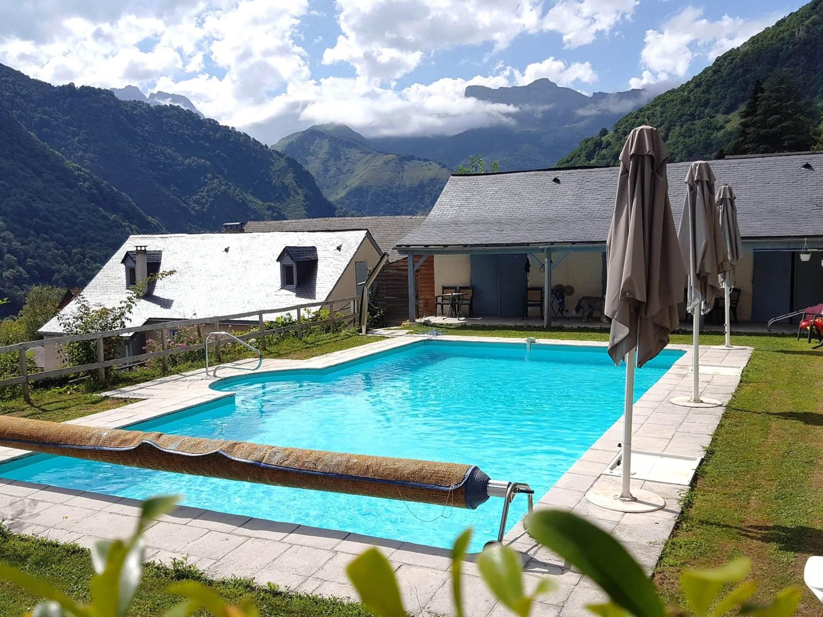 Maison Pouquette à Cette - piscine