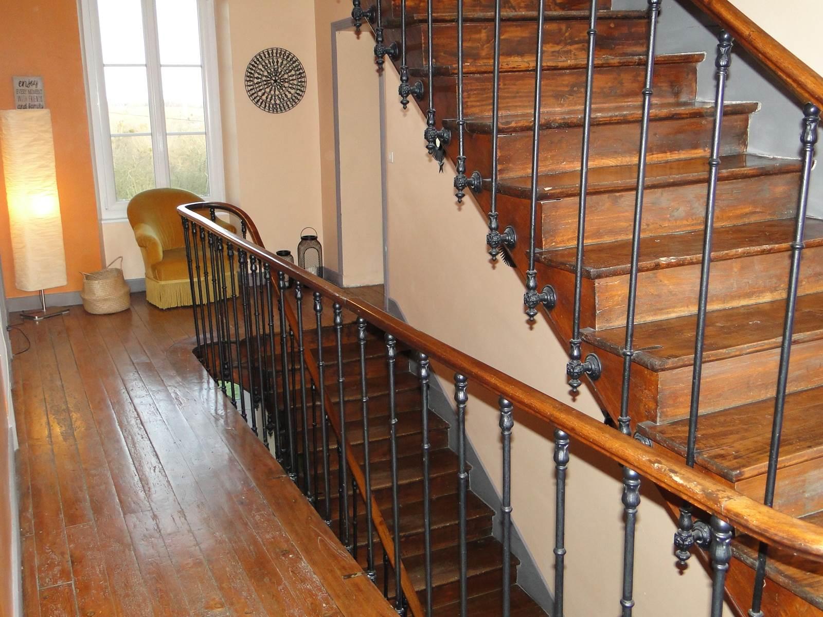 Escalier Normand en Orme