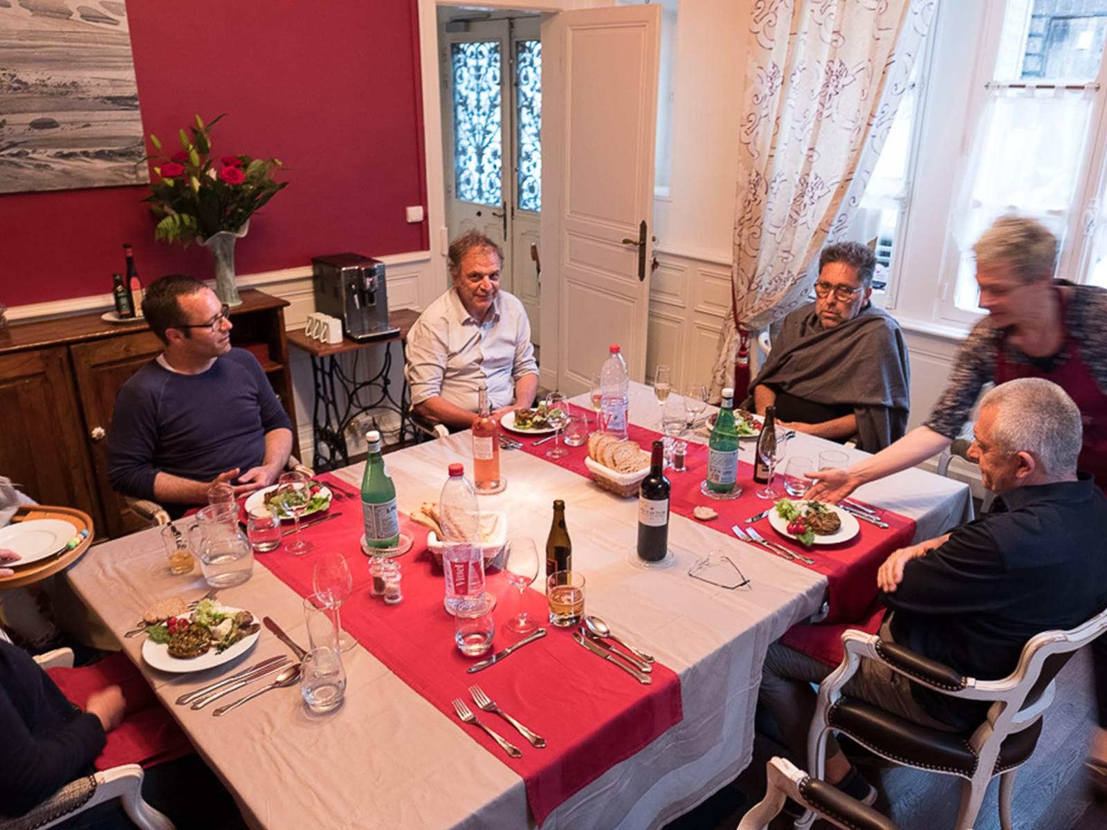la table d'hôte