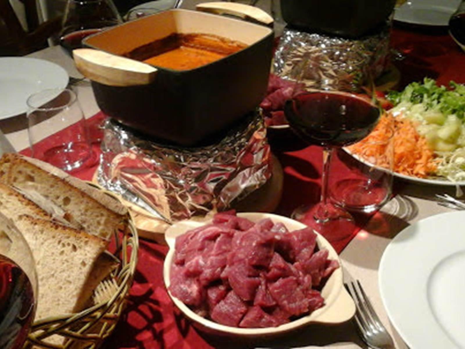 fondue pelaude , plat signature au Ranch des Lacs