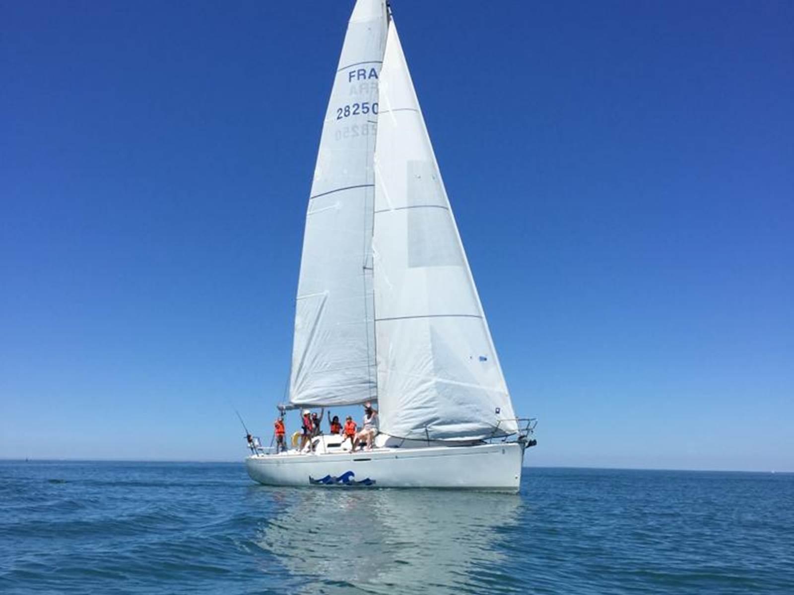 naviguer en voilier avec Envol à Voile