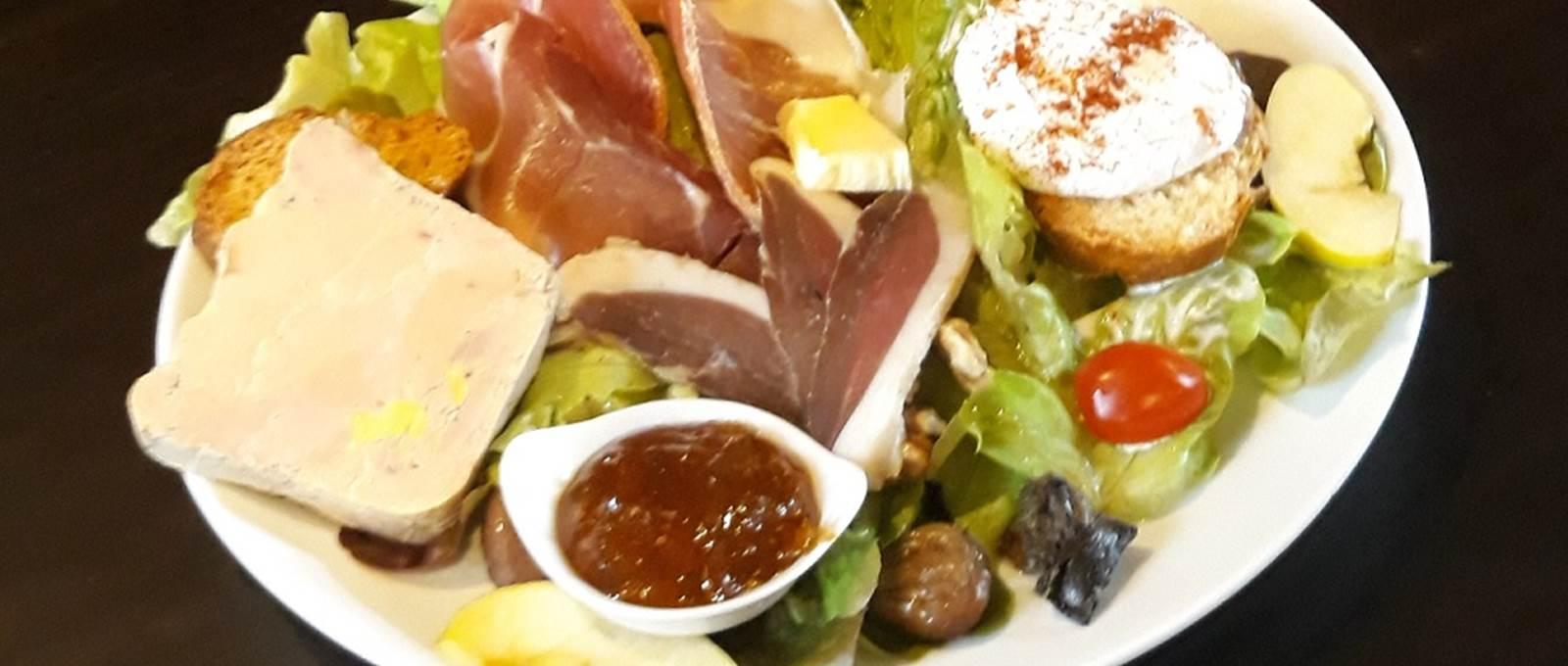 Assiette Gourmande Restaurant LE SULLY St Saud lacoussière