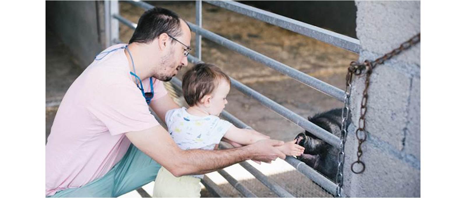 Partagez un moment en famille auprès des animaux
