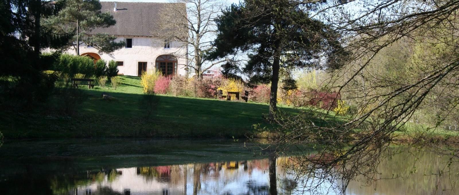 La propriété des Gîtes, Chambres et table d'Hôtes la Landre Bains les Bains, la Vôge les Bains, Le Clerjus