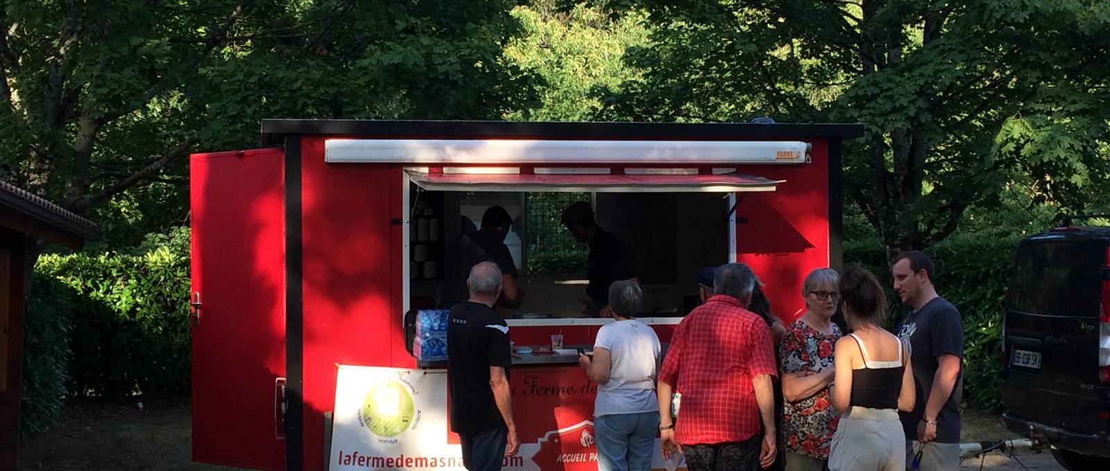 Food truck la ferme des Masnaud - Camping de la Lande - Nexon