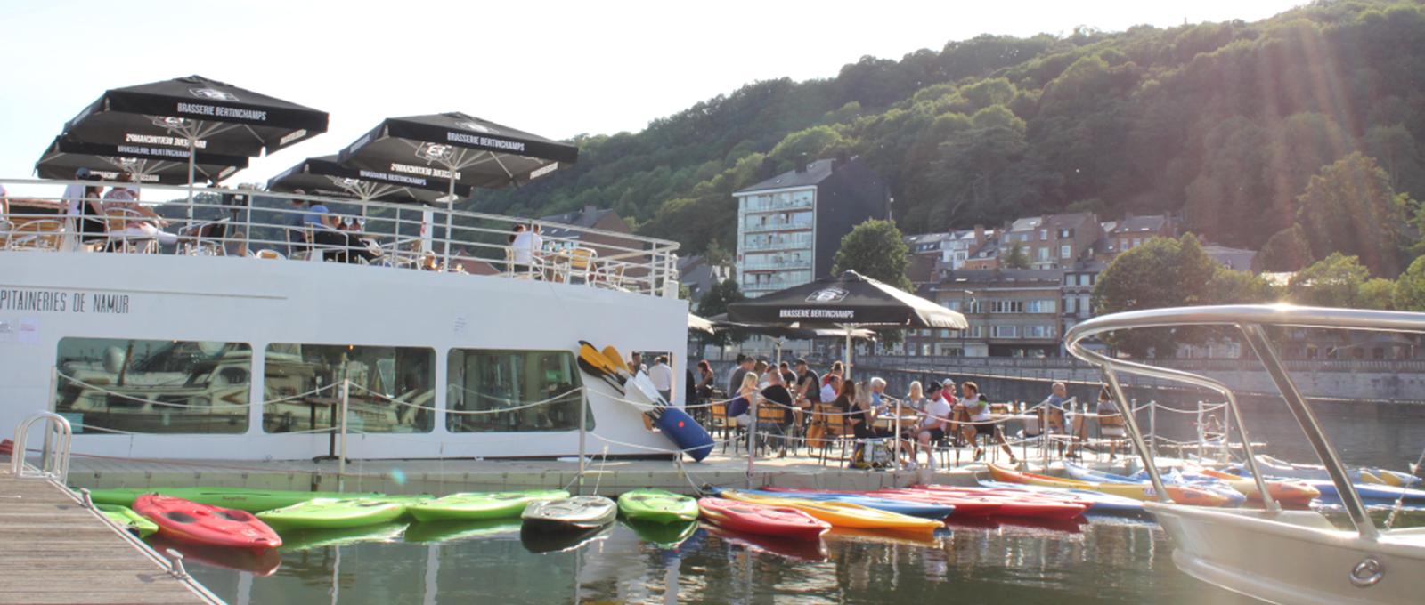 Terrasse - Les Capitaineries de Namur