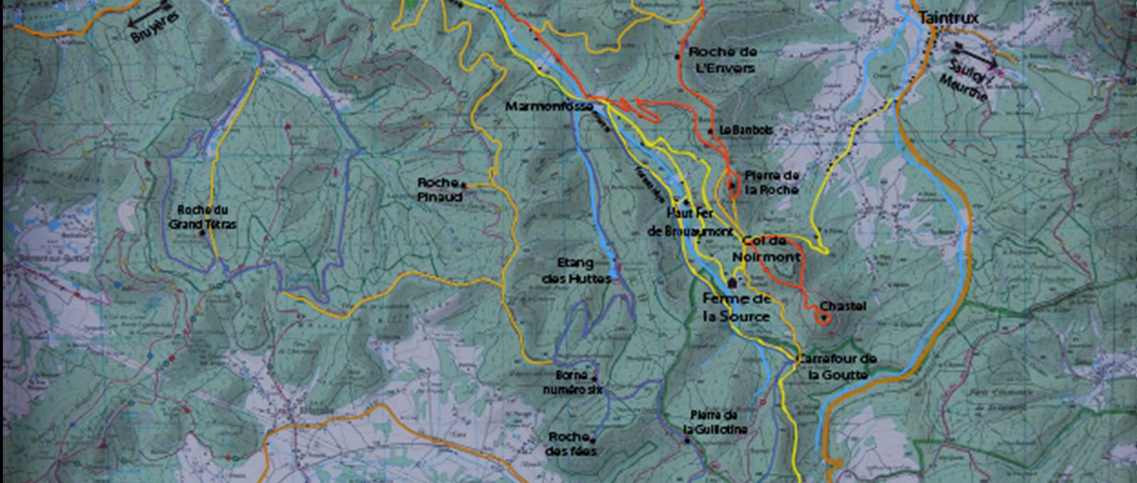 carte randonnée