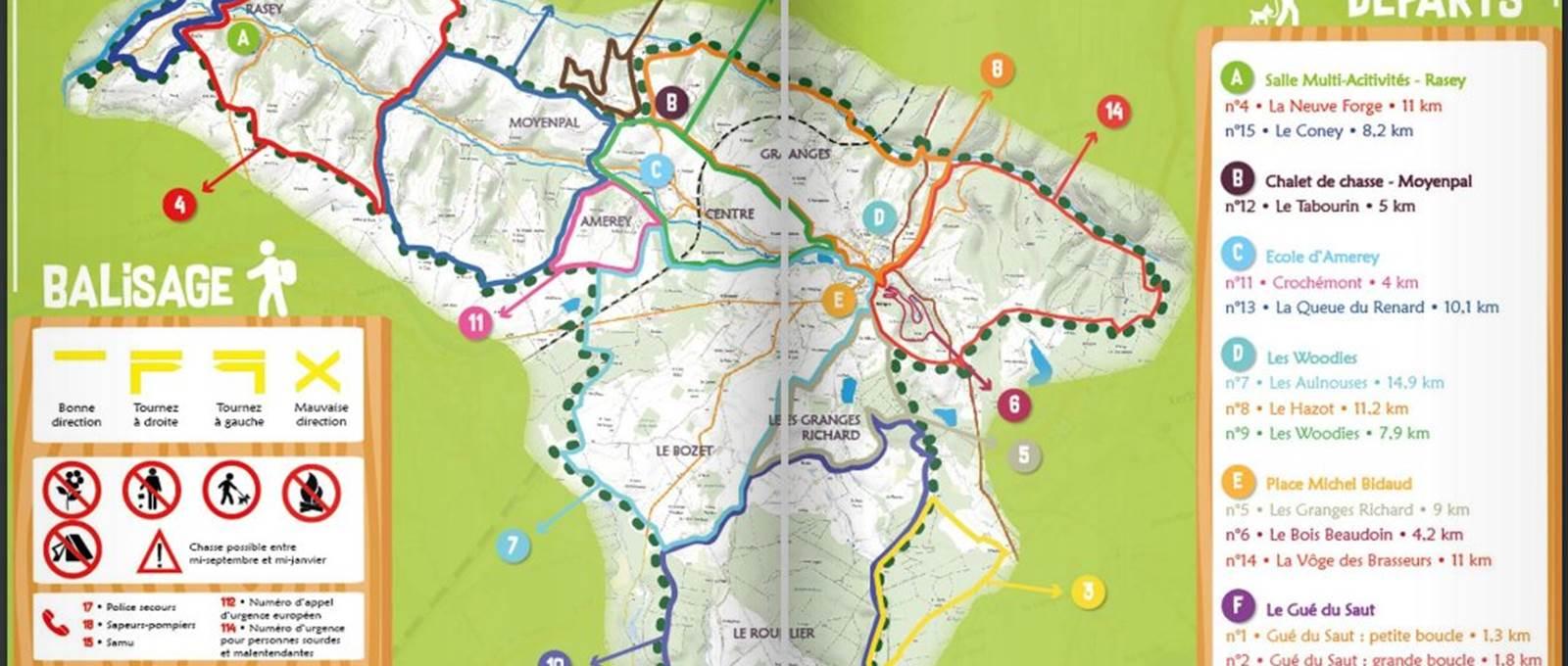 Xertigny Tour 15 magnifiques parcours de 1 à 15Km entre forêt et campagne