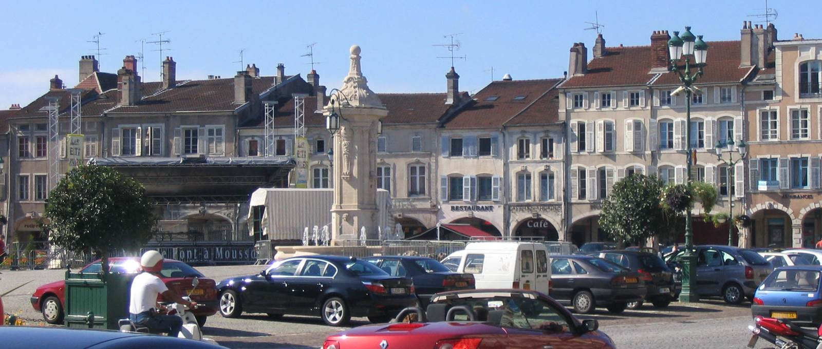 Place Duroc et ses arcades