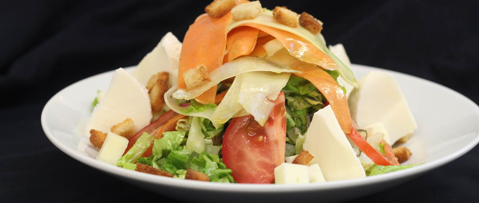 Salade Fraicheur restaurant Le Rond Point d'hOr Hossegor