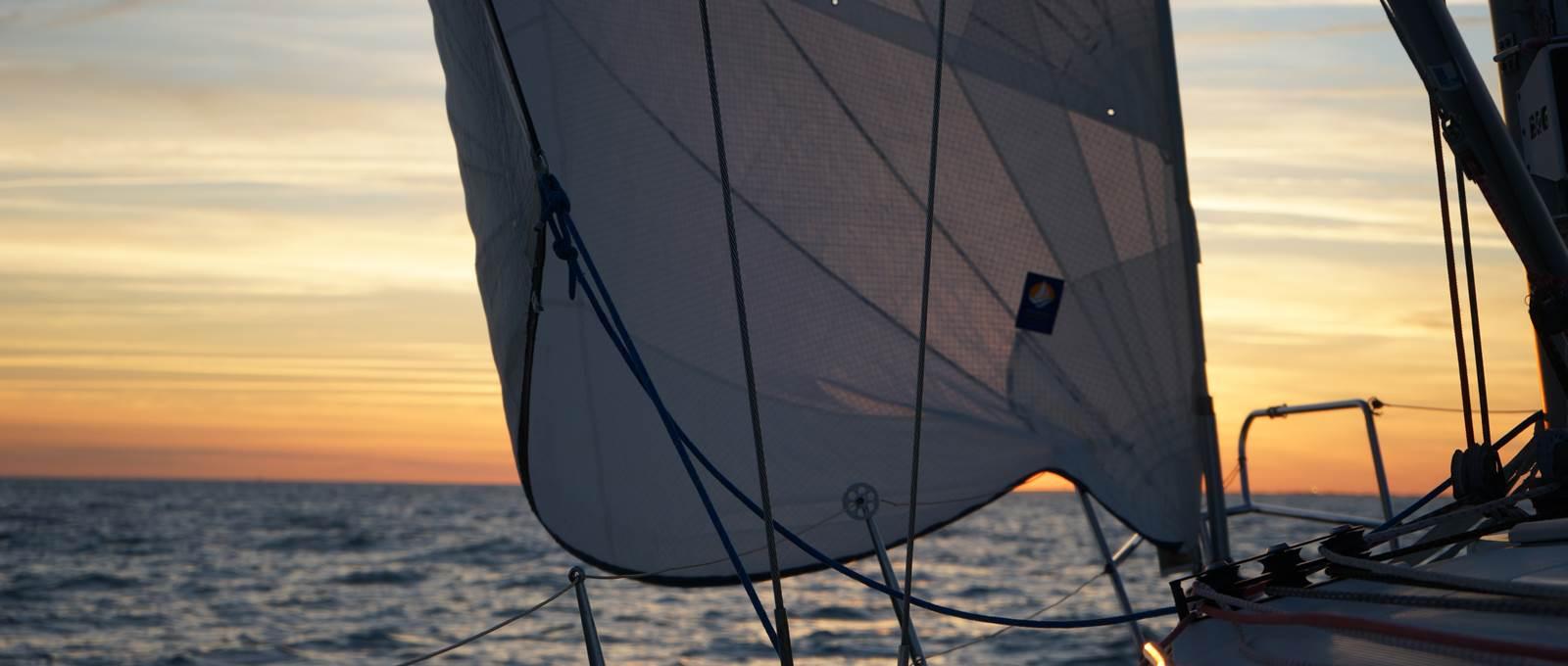 Soirée en navigation avec Envol à Voile