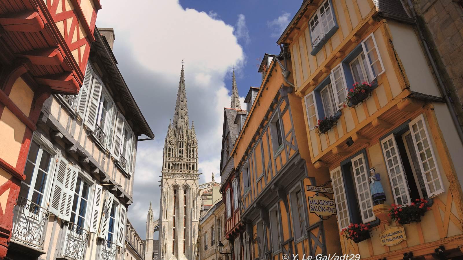 Quimper, capitale de la Cornouaille