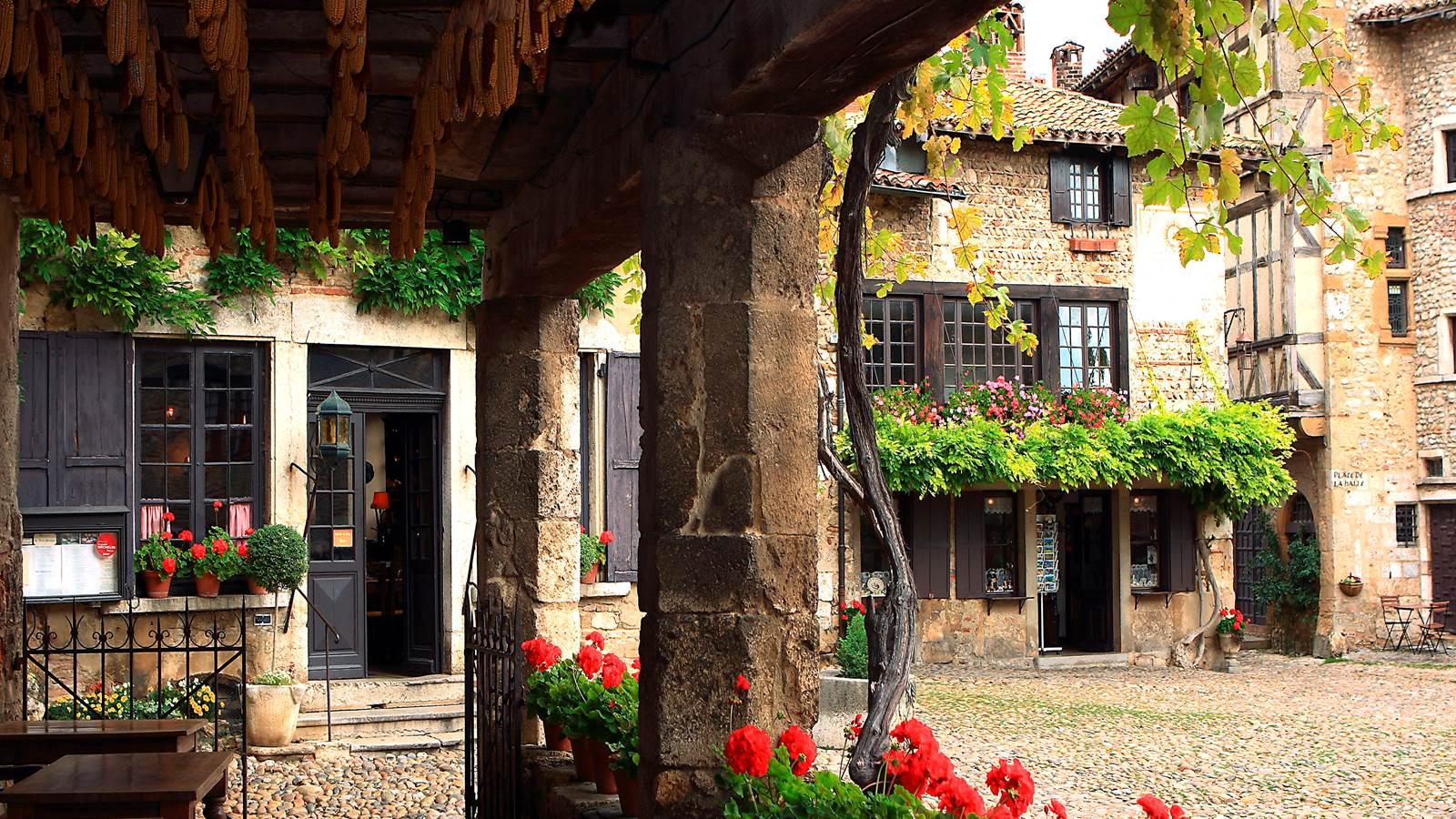 Pérouges, l'un des plus beaux villages de France