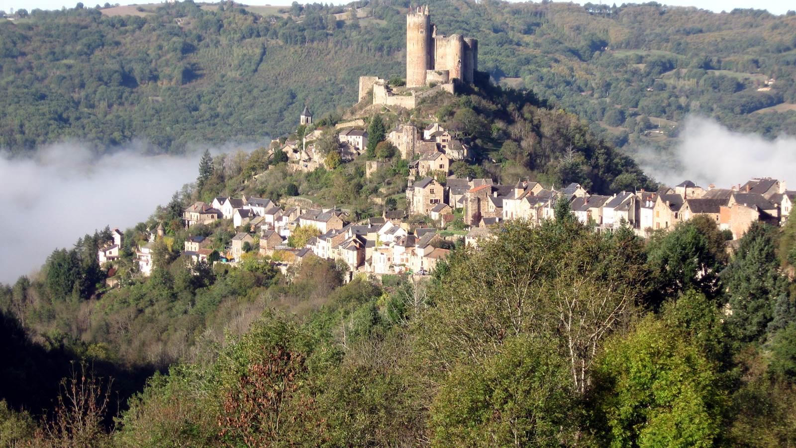Les bastides du Rouergue : Najac, Villefranche-de-Rouergue, Villeneuve-d'Aveyron...