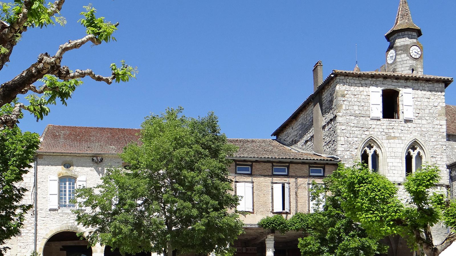 Monflanquin, l'une des plus belles bastides du Lot-et-Garonne