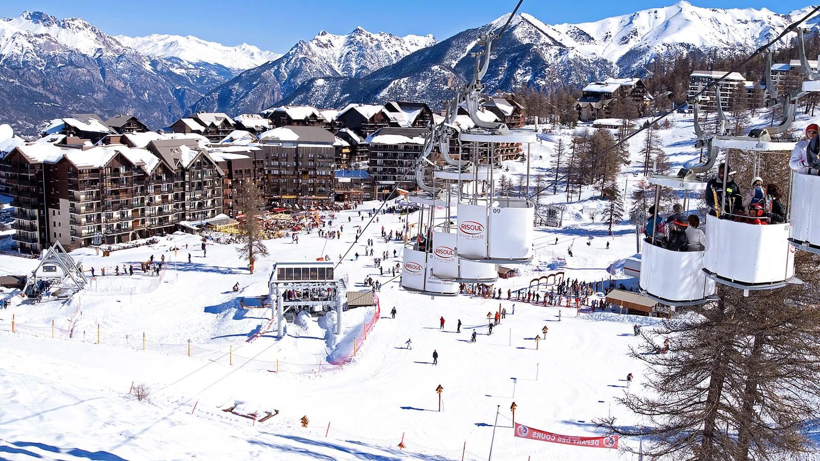 Vars-Risoul, l'un des plus grands et des plus beaux domaines skiables des Alpes du Sud