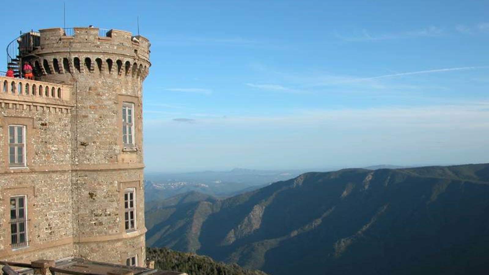 Le mont Aigoual et son observatoire