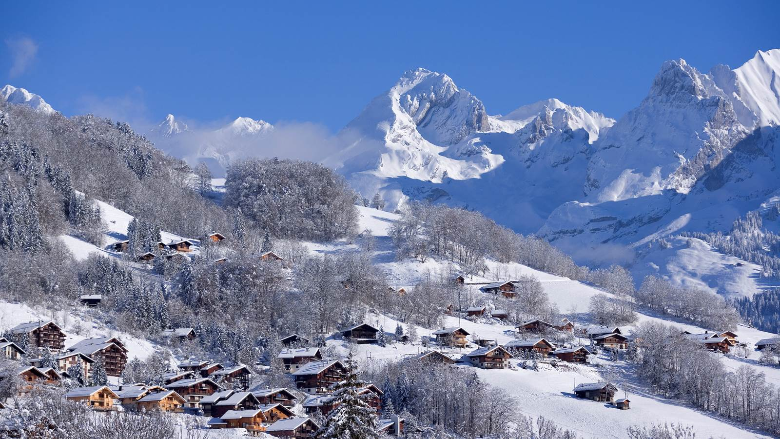 Le Grand Bornand, charmant village-station du Massif des Aravis