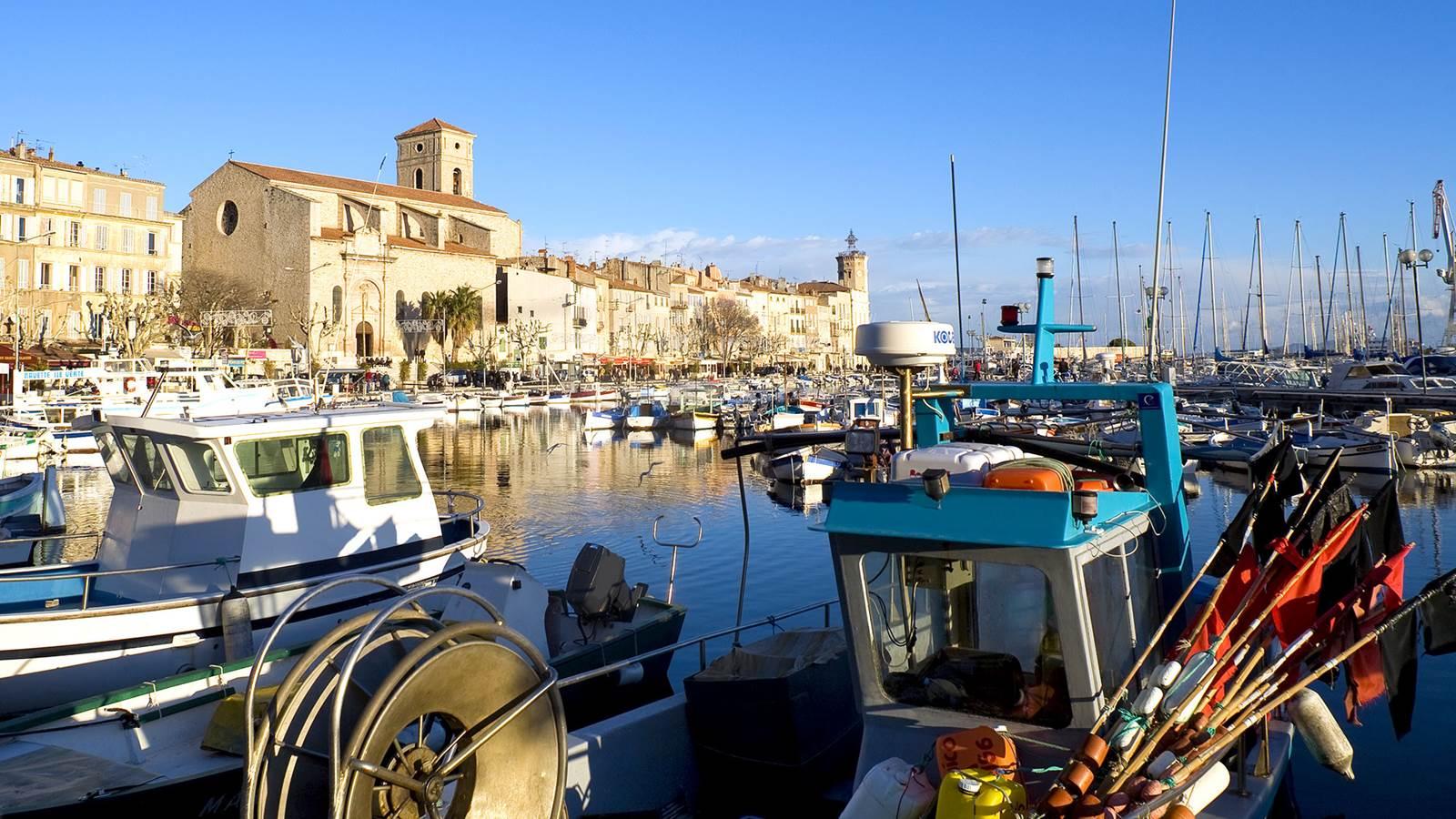 Saint-Cyr-sur-Mer, La Ciotat et la baie des Lecques