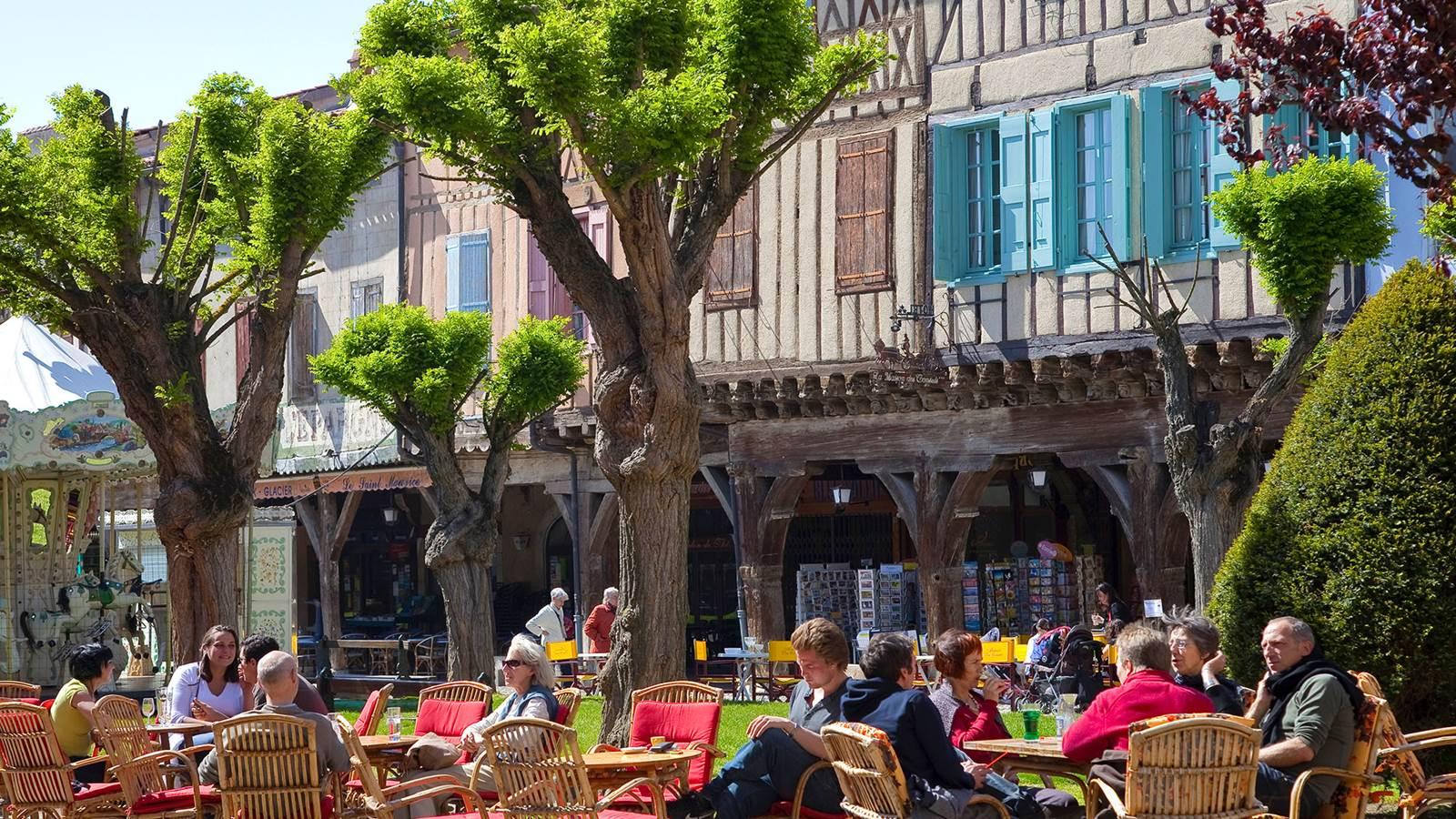 Mirepoix, bastide du Pays des Pyrénées cathares
