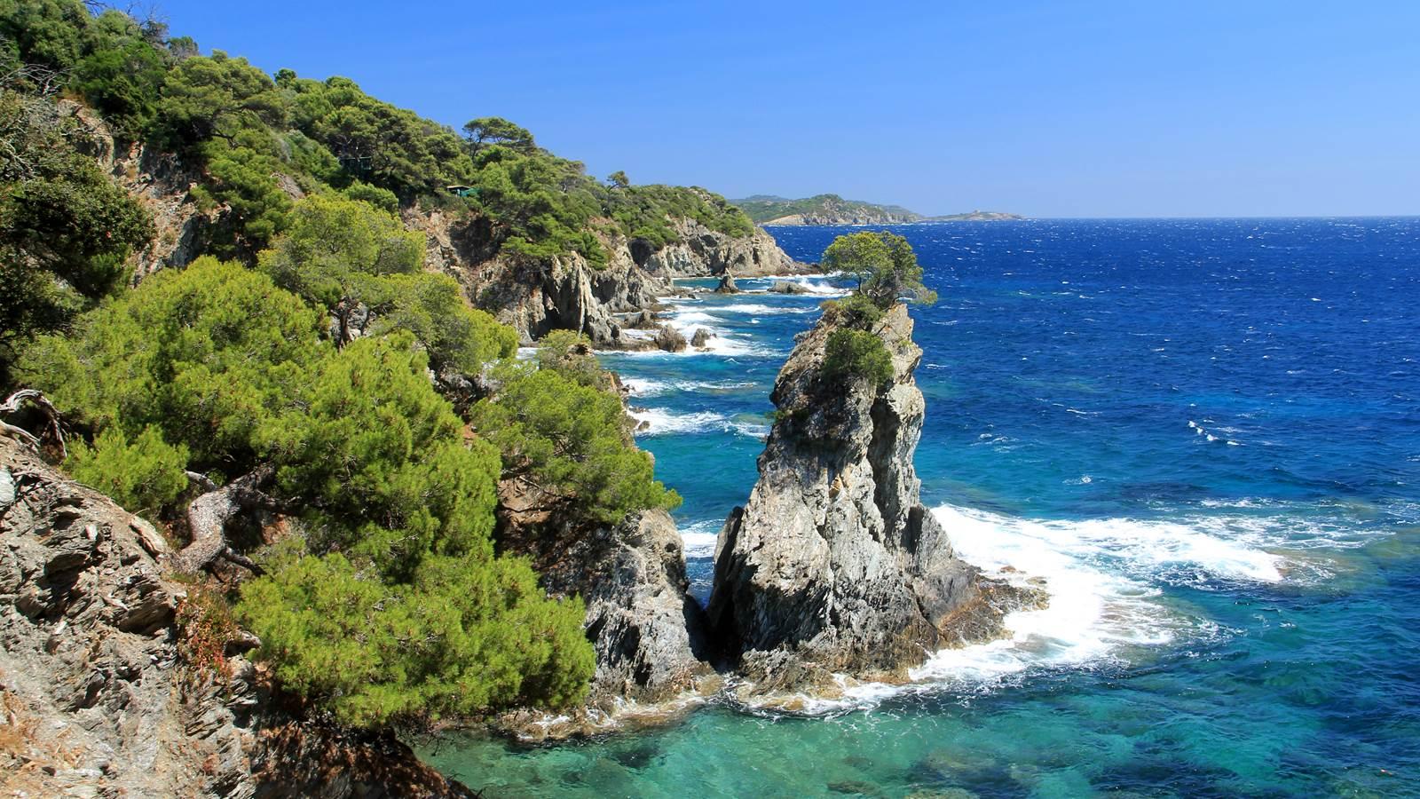 La presqu'île de Giens et les Salins-d'Hyères
