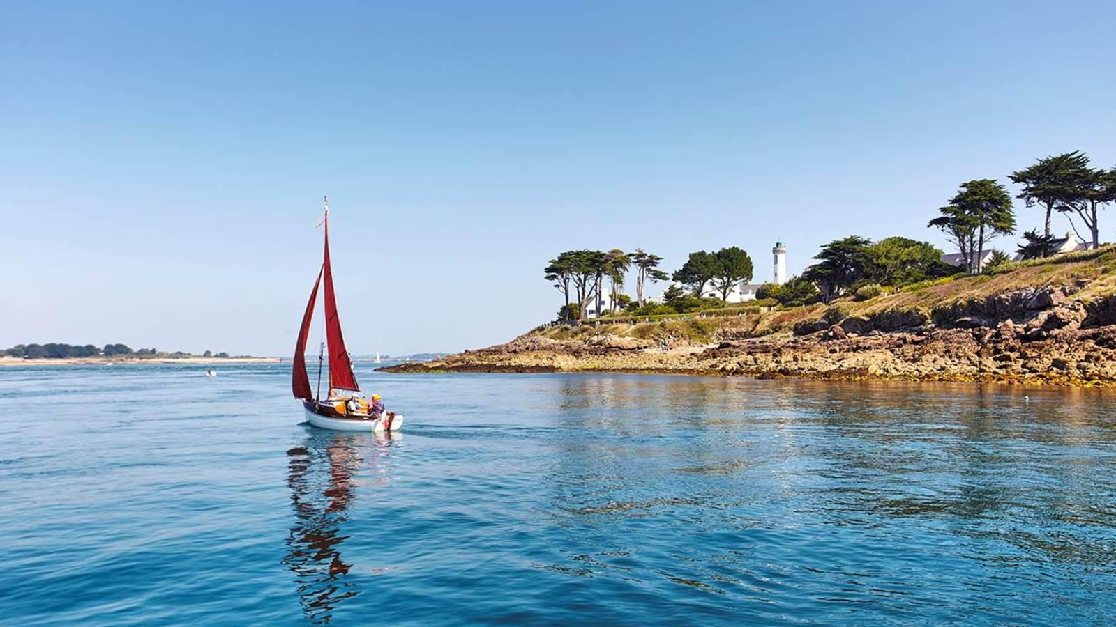 L'île aux Moines et le golfe du Morbihan