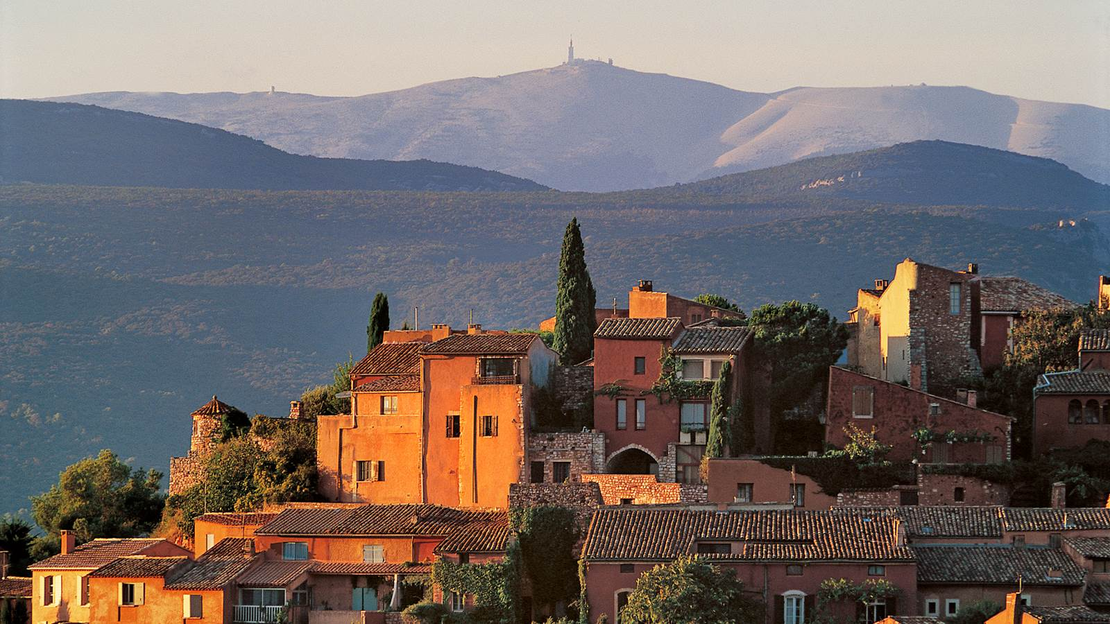 Roussillon et les ocres du Luberon