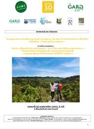Lancement du cartoguide « côtes du rhone gardoises »