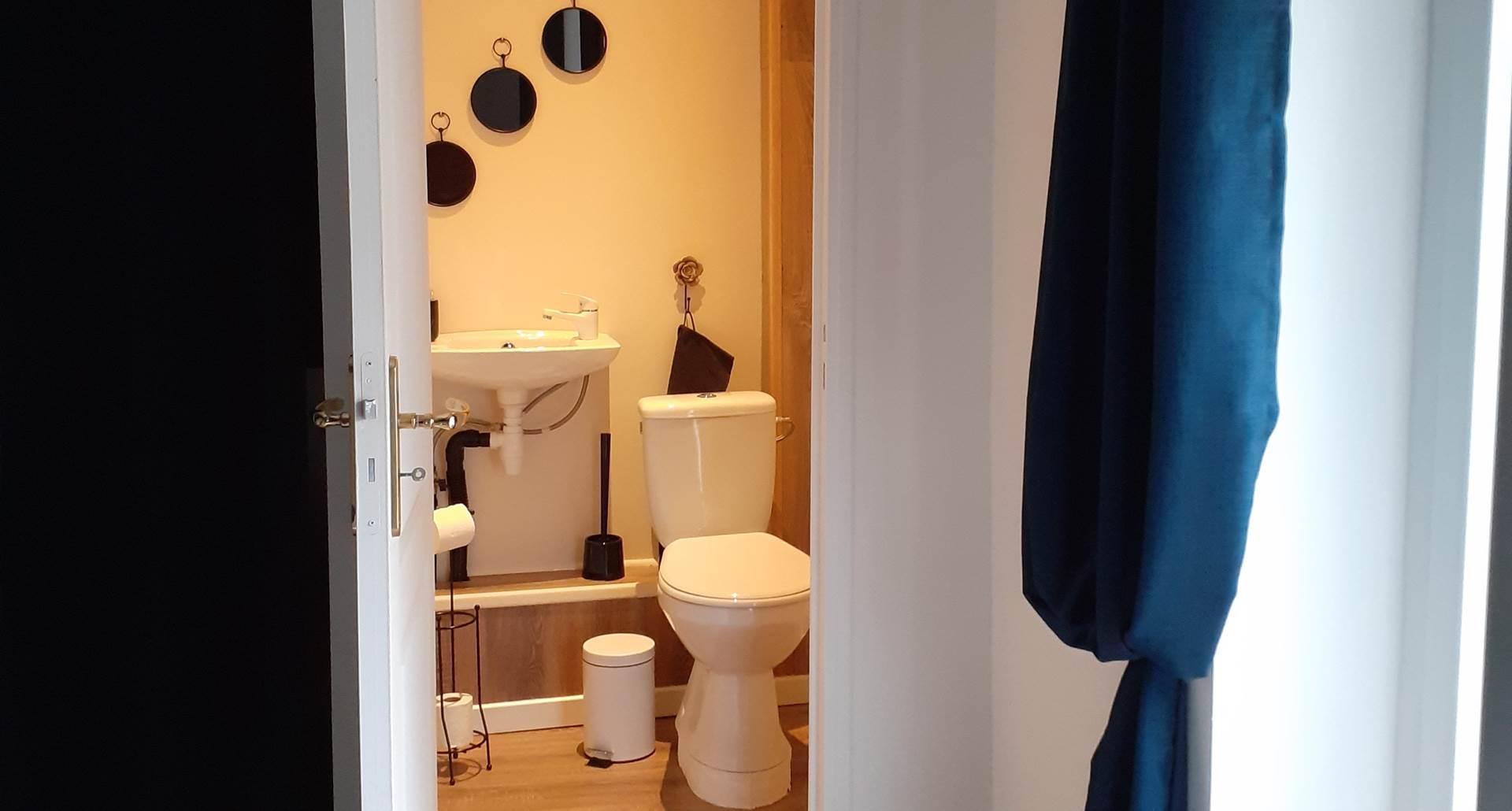 Duplex La Grange 1er étage avec wc.