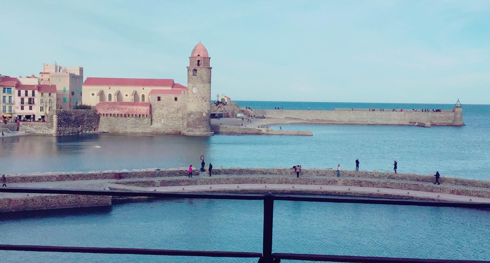 Location Collioure- Résidence Saint Vincent- Vue