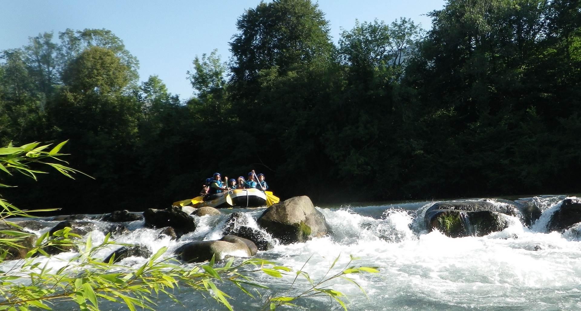 sensation rafting evasi'eau