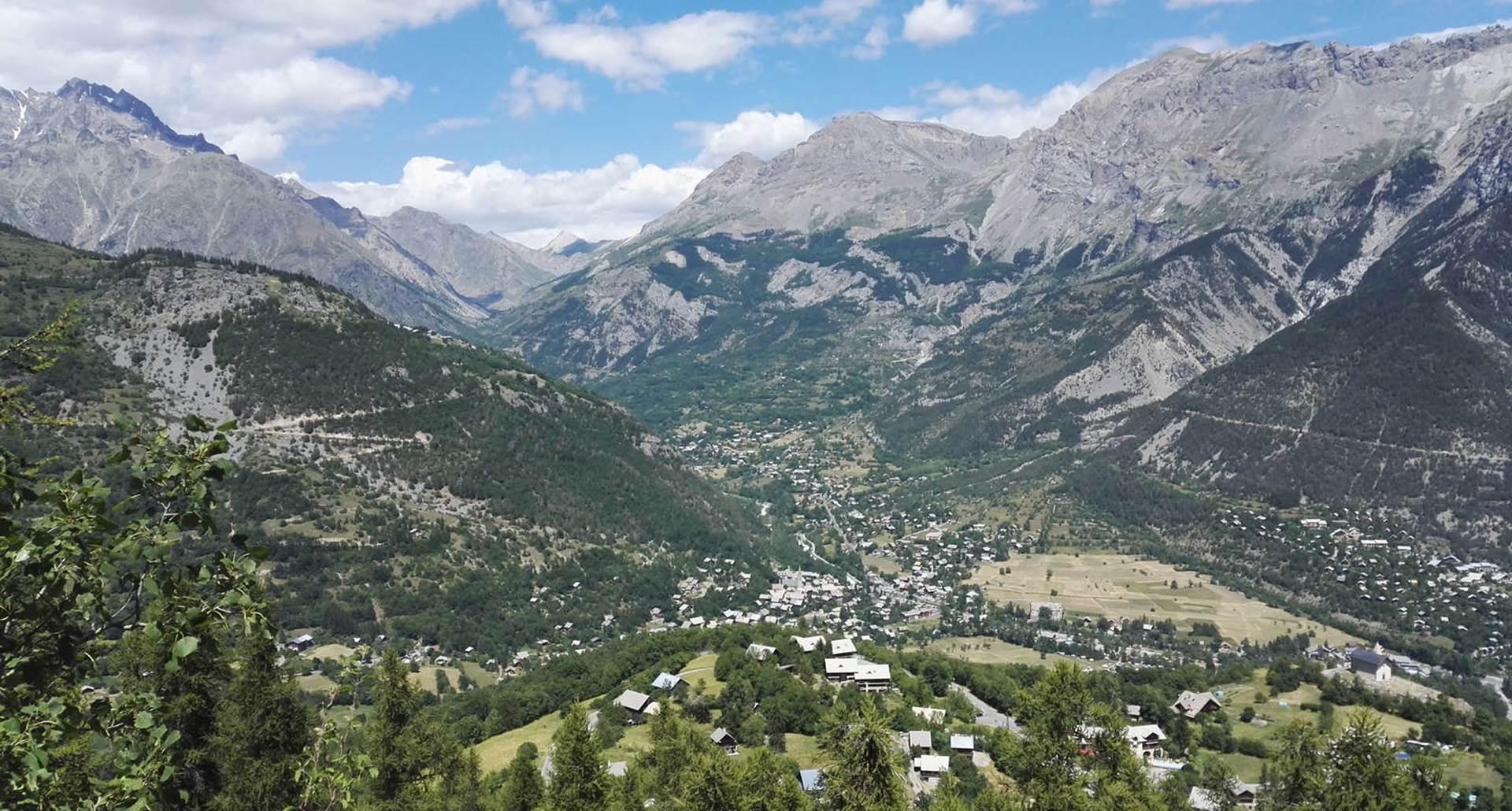 Vallée de Vallouise, depuis Puy St Vincent
