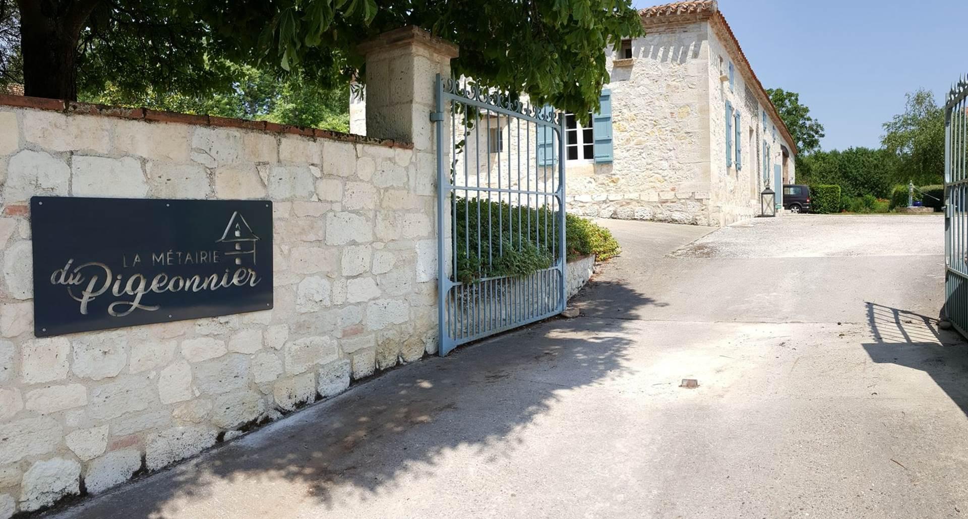 Bienvenue à La Métairie du Pigeonnier - Gîte de France